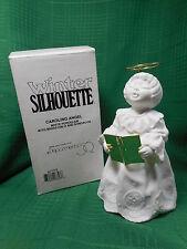 Dept 56  Winter Silhouette   Caroling Angel  Figurine #67709