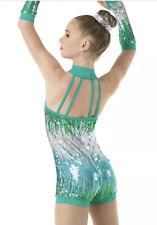 Weissman #9949 Costume GOOD LUCK Jazz Sequins Size SA