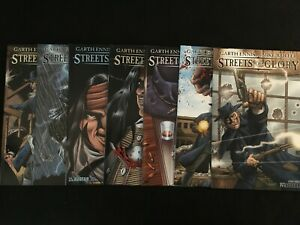 STREETS OF GLORY #1, 2, 3, 4, 5, 6, Preview Issue VFNM Condition