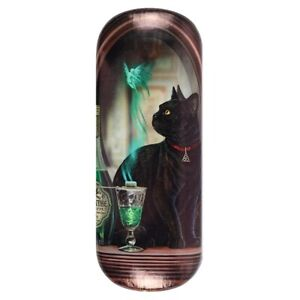 ABSYNTH DESIGN GLASSES CASE LISA PARKER SUNGLASSES CAT FAIRY DRINKING GIFT