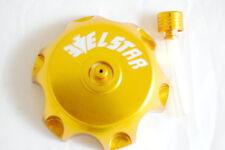 48.5MM GOLD COLOR BILLET ALUMINUM GAS CAP W/ VENT SSR70 DIRT PIT BIKE ATV GC06S