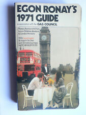 Egon Ronay's 1971 Guide to Hotels,Pubs,Restaurants in Great Britain&Ireland.1970