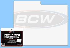 BCW: Storage Box Dividers: POSTCARD SIZE: 300ct: 30 Packs x 10 ea *FREE USA S&H