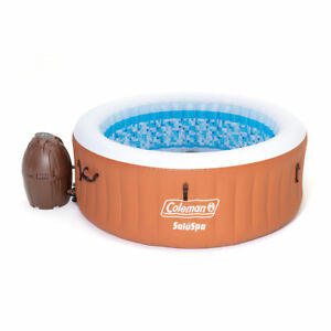 Coleman 90455E SaluSpa Miami Air Jet 4 Person Inflatable Hot Tub Spa with Pump