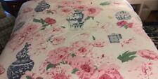 Designer Custom Chintz Queen Duvet Cover 100% Cotton