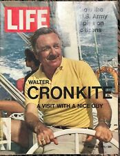 LIFE MAGAZINE Mar 26 1971 * Walter Cronkite* Army Spies * Vietnam * Pollution #1