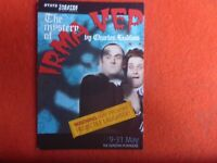 THE MYSTERY OF IRMA VEP THEATRE AVANT  PROMO   POSTCARD SOUTH AUSTRALIA