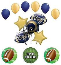 Mayflower Products Los Angeles Rams Football Party Supplies  Balloon