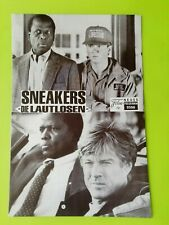 """German Film Program. """"Sneakers"""" Robert Redford. Dan Akroyd. 1993"""