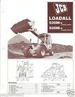 Equipment Brochure - JCB - 520-M-2/4 Loadall - Material Handler - c1985 (E3119)