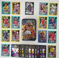 2020/21 Match Attax Golden Goalscorers Mega Tin + 100 cards inc Neymar Limited