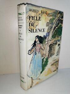"""Fille Du Silence 1962 Morris West Collection """"Feux Croisés"""" Ed. Plon Relié"""