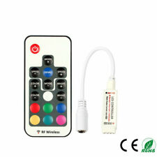 RF Mini Wireless 17 Key Remote Controller + Receiver For RGB Led Strip 3528/5050