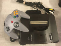 Nintendo 64 N64  Console + 1 Brand New Controller + Cords!  **Cosmetic Wear**