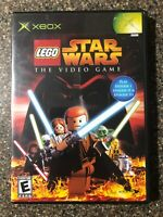 LEGO Star Wars: The Video Game - Original Xbox Game - Clean & Tested Working