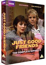 Just Good Friends - Series 1-3 (DVD, 2010, 4-Disc Set       Fast  Post