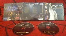 THE WHO ** Live From Toronto ** ORIGINAL 2006 Netherlands 2-CD SET DIGIPACK