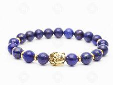 Lapis Lazuli Tibetan Buddhism Buddha Bracelet Chinese Chakra Stone Reiki Gift UK