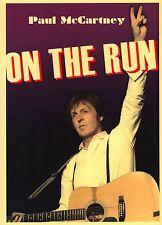 PAUL McCARTNEY 2011 ON THE RUN TOUR CONCERT PROGRAM BOOK / NM 2 MINT