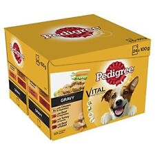 Pedigree Dog Pouches Real Meals In Gravy, 24 x 100 G
