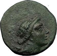 Magnesia ad Maeandrum Ionia - Artemis Leukophryene Cult statue Greek Coin i58713