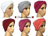 💗Fashionable Turban hats underscarf cap hijab, lovely stretchy jersey material