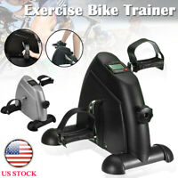 Home Gym Exercise Pedal Mini Stepper Cycle Bike Fitness Trainer Workout US STOCK