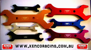 | Kenco | AN Dash Fitting Spanner Set an 3 4 6 8 10 12 16 20 Speedway Drag Rally