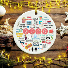 Us 2020 A Year To Remember Christmas Pandemic Ornament 2020 Quarantine Ornament