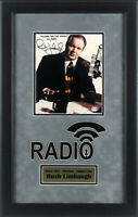 Rush Limbaugh Signed Autographed 8x10 Photo Framed PSA - WABC New York