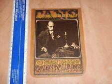 "Rare Original 1967 Charlatans Family Dog Concert Postcard Handbill Fd-71 ""Tans"""