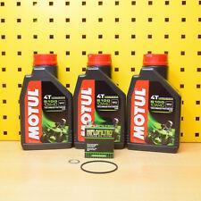 Honda 650 FMX FX SLR Ölwechselset Ölfilter Motul Öl 5100 4T 10w40 Vigor Motoröl