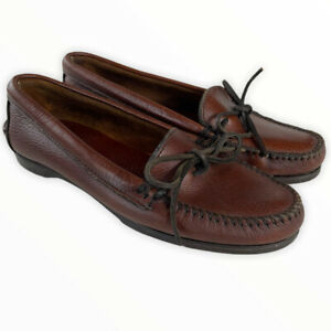 Vintage RALPH LAUREN Polo Country Dry Goods Driving Moccasin Loafers Sz. 8.5 D
