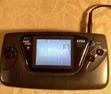 Sega Game Gear Konsole neue Kondensatoren 02/2021 ohne OVP. Mit 11 Spielen.