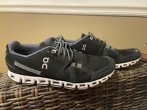 EXC On Cloud  Swiss Engineering  Black Running Shoes Sneakers Size 8.5