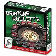 Casino Drinking Roulette Game, shot glass game, las vegas roulette