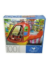 """100 Piece Jigsaw Puzzle """"HELICOPTER RIDE"""" Cardinal  8.75"""" X 11.25"""" Family Fun"""