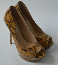 "Dune Very High Heel (greater than 4.5"") Animal Print Heels for Women"