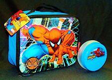 Amazing Spider-Man Marvel Snack Contenedor & Térmico Bolsa Comida Sistema Caja
