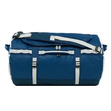 The North Face Base Camp Small Duffel Travel Bag 50l Blue Wing Teal