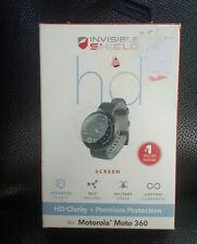 ZAGG Invisible Shield Screen Protector-Motorola Moto360- New in Box