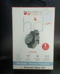 ZAGG Invisible Shield Screen Protector-Motorola Moto360- New in Box