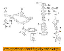 TOYOTA OEM 97-01 Camry Front-Steering  Knuckle Spindle Bolt 90105A0041