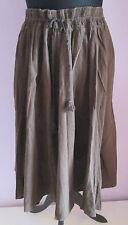 Vintage 90 S femme J CREW Brown Indian/Hippy Jupe Courte Libre Taille (5)