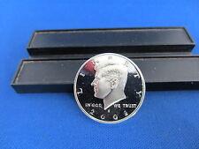2002-S Silver Kennedy Half Dollars Deep Cameo Mirror Proof Upper grading range