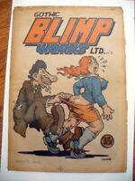 GOTHIC BLIMP WORKS 2 Robert Crumb Vaughn Bode Art Spiegelman