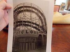 1980 Cyclone Roller Coaster Coney Island Brooklyn NYC New York City Photo 1