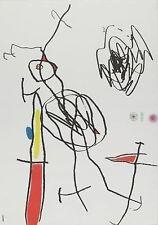 Joan Miro - Passage de L'Egyptienne - Plate I - Original Etching with Aquatint