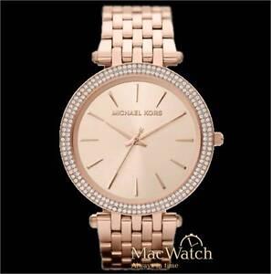 Michael Kors Damen Uhr MK3192 Edelstahl rose NEU