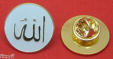 Allah Lapel Hat Cap Tie Pin Badge Islam Muslim God Brooch Arab Arabic Souvenir